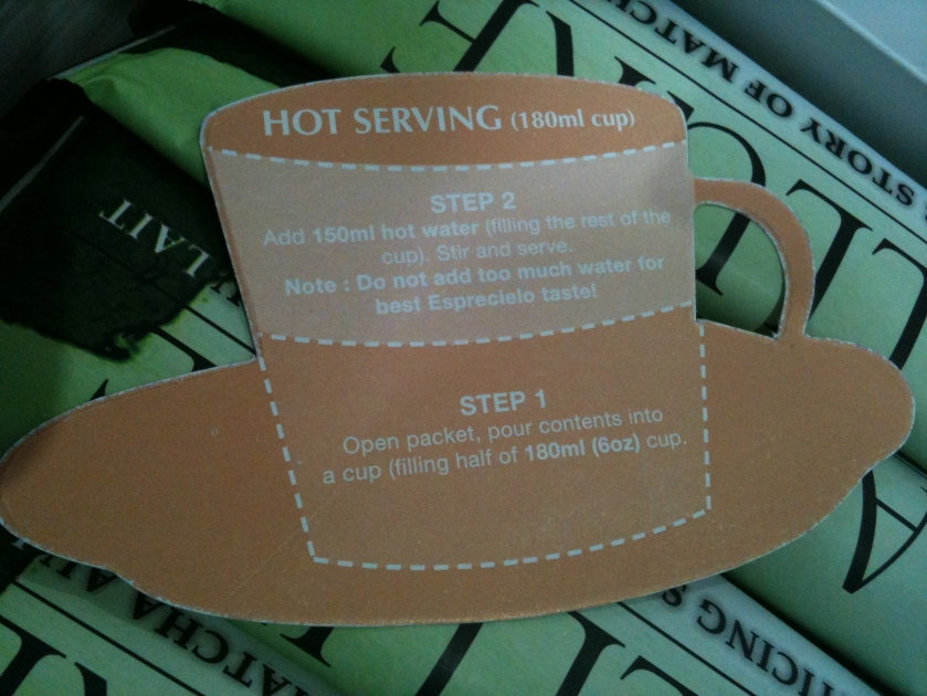 Hot serving