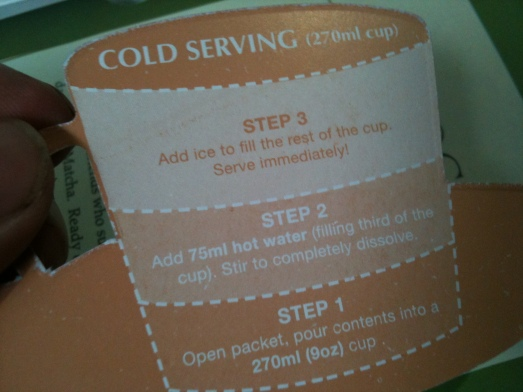 cold serving
